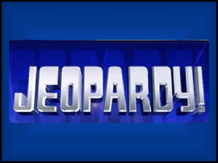 Jeopardy first semester review (Averkamp p