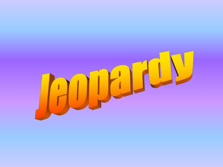 Jeopardy storientationfile