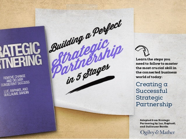 Building a Perfect Strategic Partnership in 5 Stages