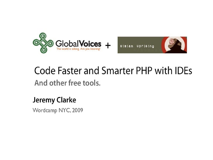 NetBeans, IDEs and faster programming for WordPress - WordCamp NYC 2009