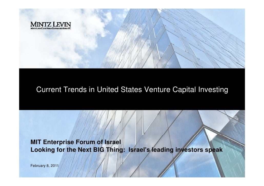 Jeremy Glaser - Current Trends in United States Venture Capital Investing