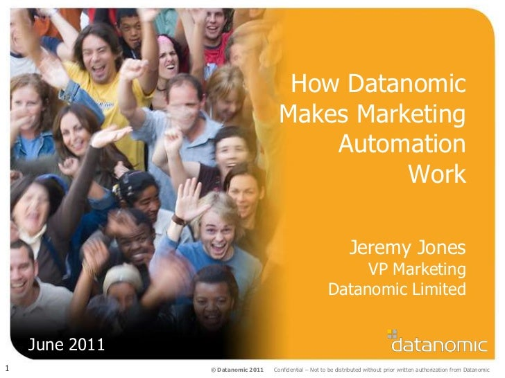 Pardot UK Seminar: Jeremy Jones (6/23/2011)