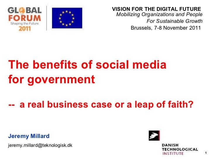<ul><li>VISION FOR THE DIGITAL FUTURE  Mobilizing Organizations and People </li></ul><ul><li>For Sustainable Growth </li><...