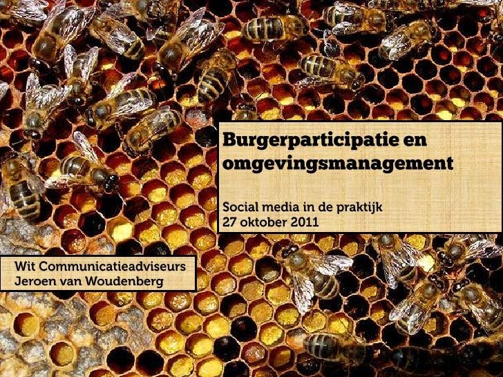 Jeroen van-woudenberg - social media in de praktijk - socmedprak 27102011