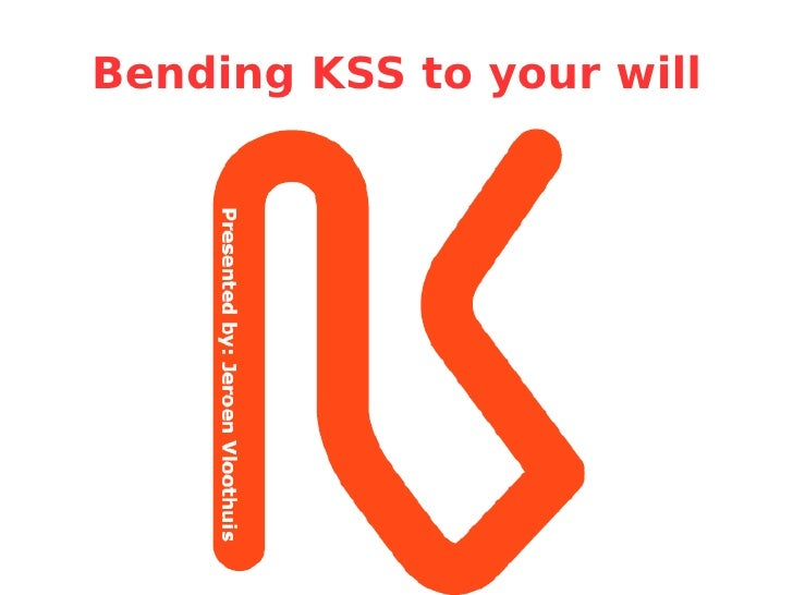 Jeroen Vloothuis   Bend Kss To Your Will