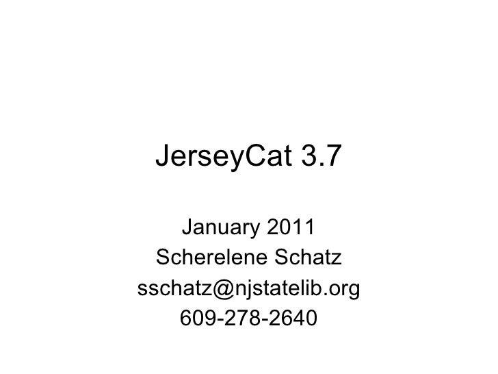 Jersey cat 3.7
