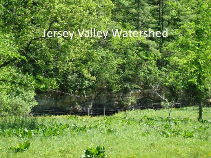 Jersey valley watershed