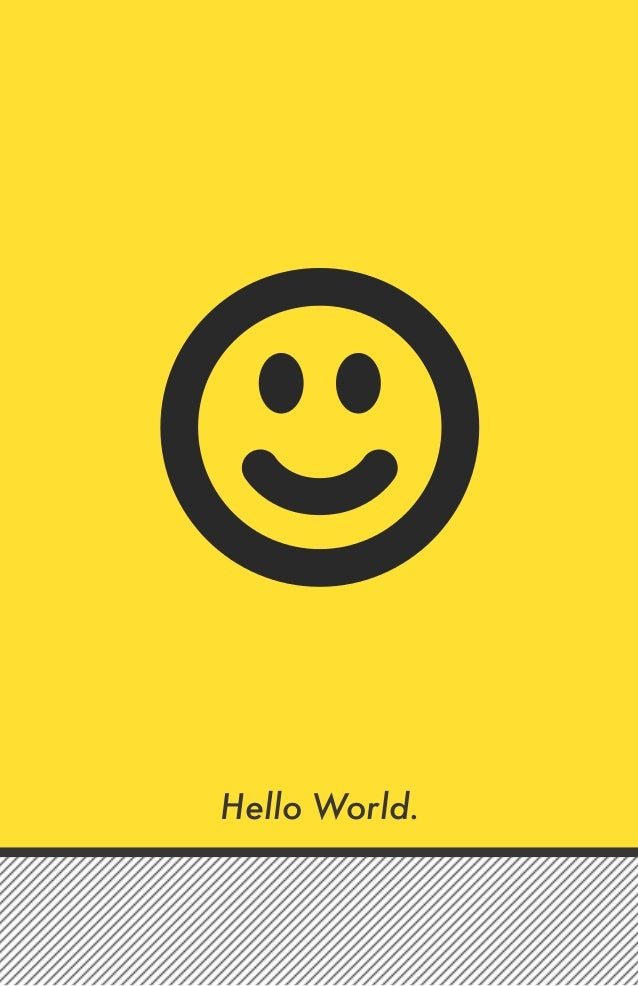 Hello World.