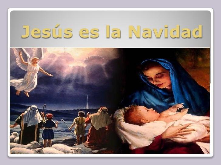 JesúS Es La Navidad