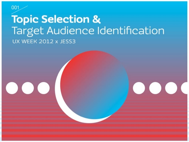 How to Select a Topic and Target Audience for Your Infographic