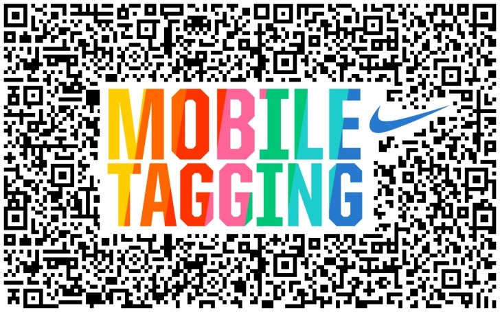 JESS3's Point of View on Mobile Tagging Technology for Nike