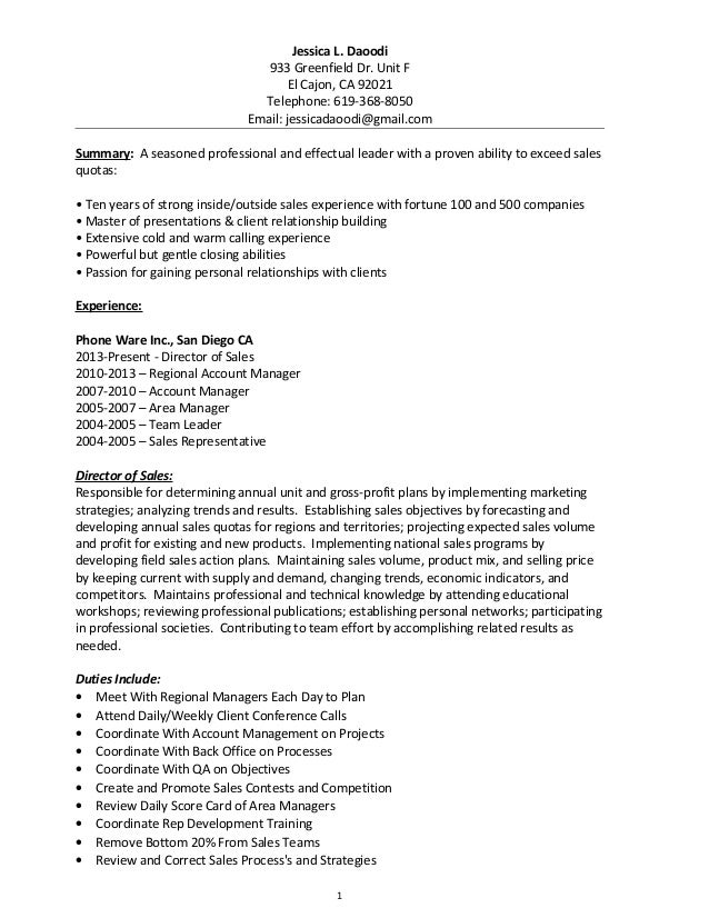 Timeshare Resume Objective