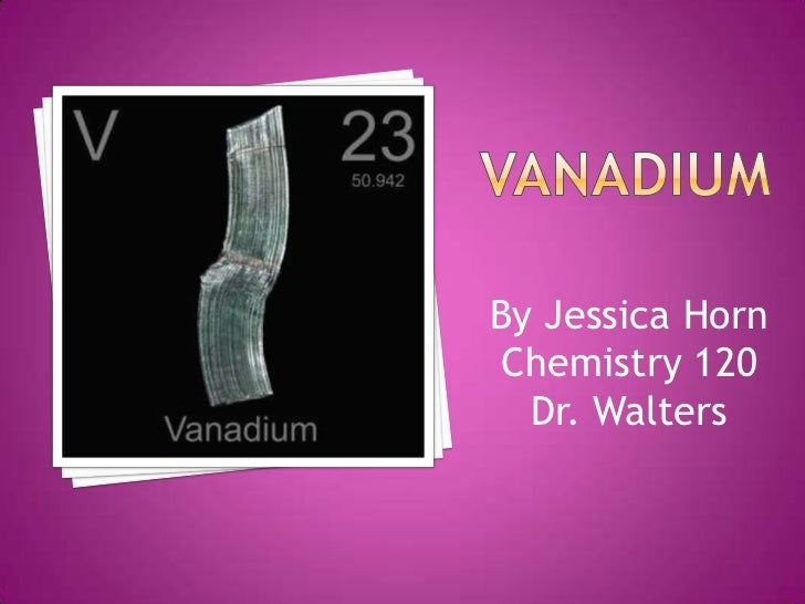 By Jessica Horn Chemistry 120  Dr. Walters