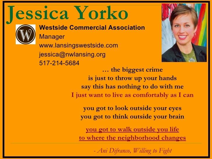 Jessica Yorko For Cedam