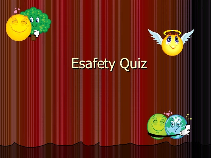 Esafey quiz by Jessie Ip