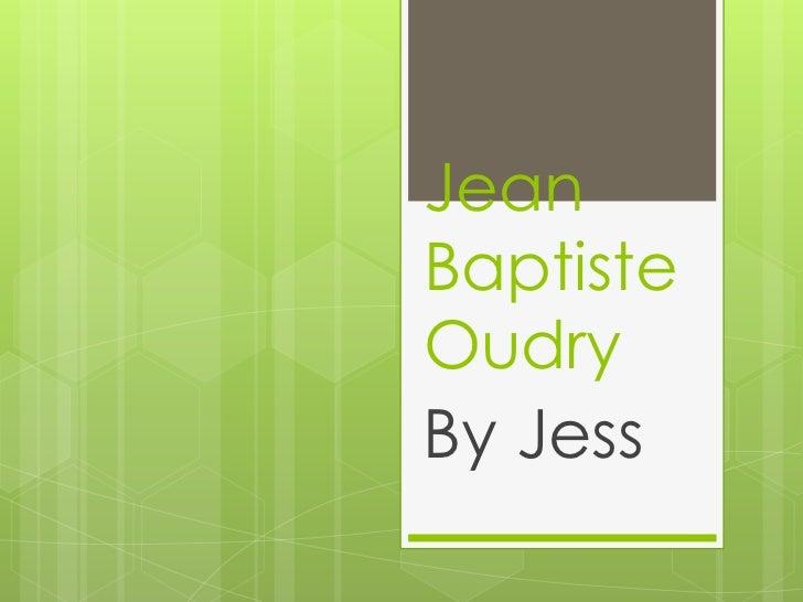 JeanBaptisteOudryBy Jess