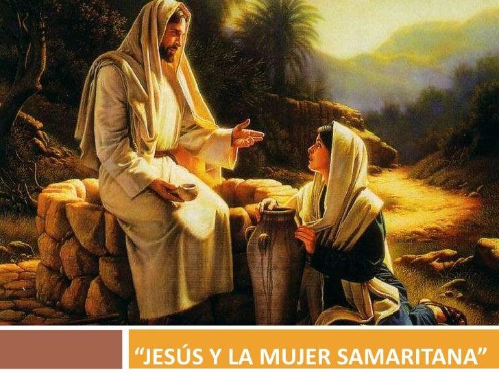 """Jesús y la mujer samaritana""<br />"