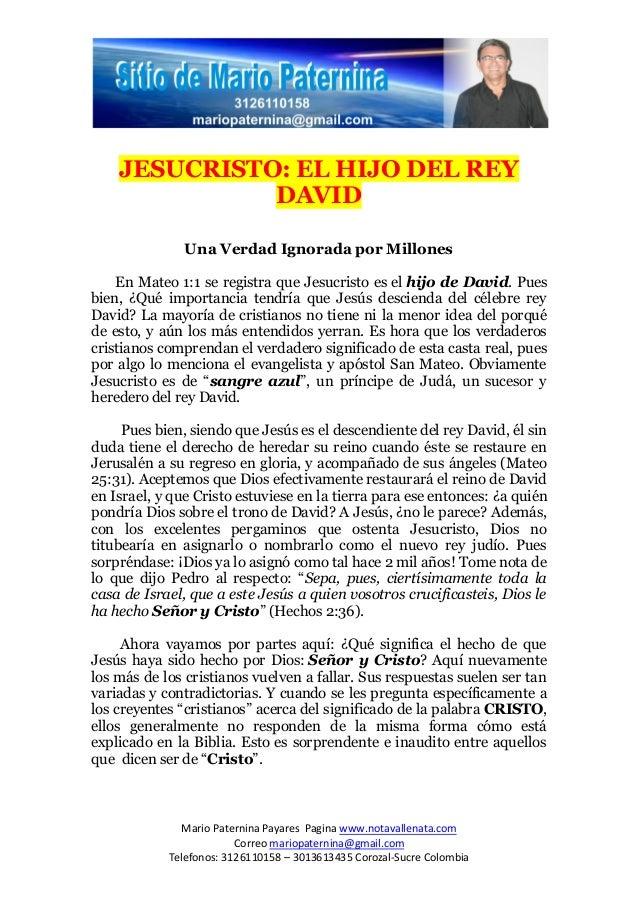 Mario Paternina Payares Pagina www.notavallenata.comCorreo mariopaternina@gmail.comTelefonos: 3126110158 – 3013613435 Coro...