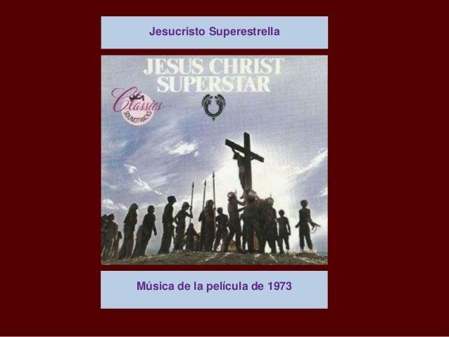 Música de la película de 1973 Jesucristo Superestrella