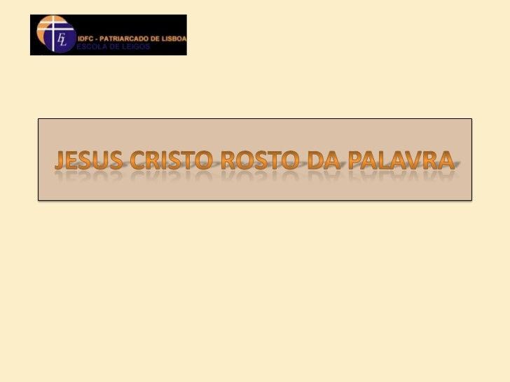 • O falar de Deus.• A comunicação de Deus na História.• A comunicação de Deus no mundo.• A Sagrada Escritura.• A Sagrada T...