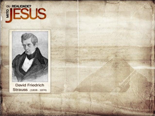 Resultado de imagem para STRAUSS JESUS MITO