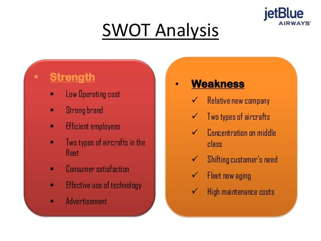 jetblue airlines case analysis A strategic management case study presentation on jet blue airways (2005)   introduction 3   high competition in us airline industry.