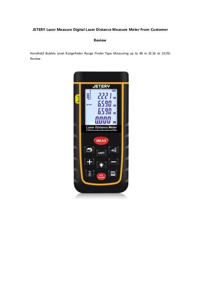 Digital Distance Measuring Equipment : Jetery laser measure digital distance