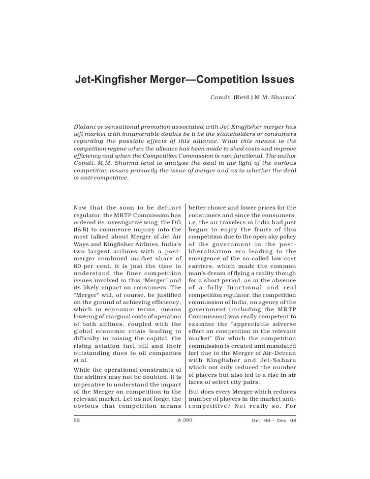 A-380                        Competition Law Repor