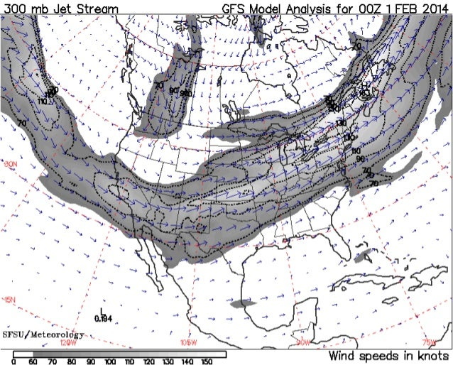 Jet Stream Analysis Spring 2014