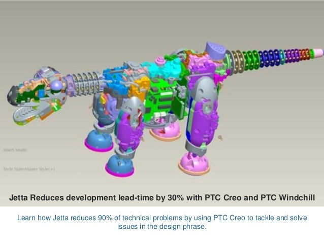Jetta Reduces development lead-time by 30% with PTC Creo and PTC Windchill Learn how Jetta reduces 90% of technical proble...