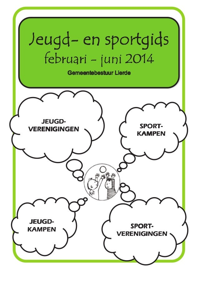Jeugd  & sportgids voorjaar 2014