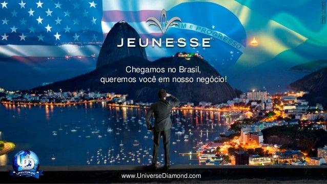 Chegamos no Brasil, queremos você em nosso negócio! www.UniverseDiamond.com