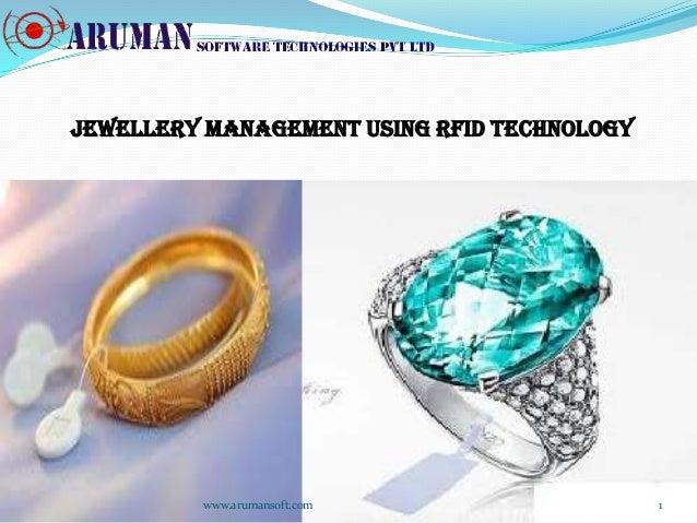 JEWELLERY Management using RFID TECHNOLOGY         www.arumansoft.com                  1