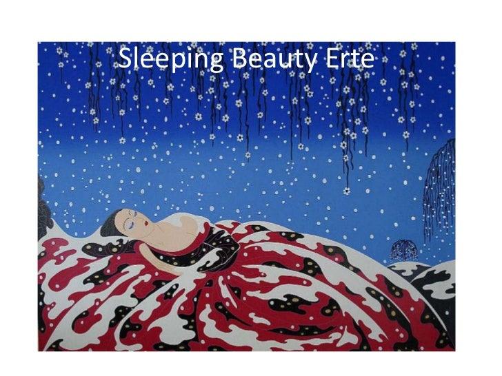 Sleeping Beauty Erte