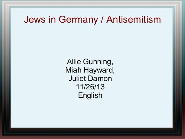 Jew Facts Presentation