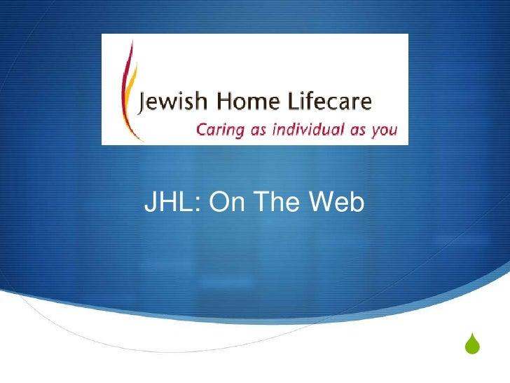 JHL: On The Web<br />