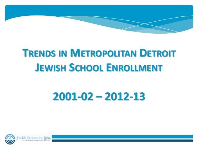 Jewish school enrollment 12yr feb 7 2013