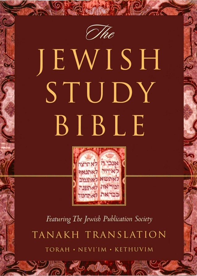 The Complete Jewish Study Bible CJB review provided by ...