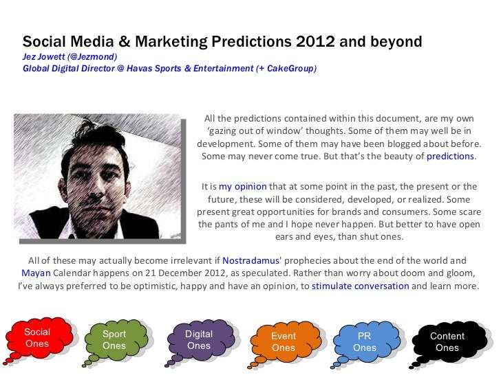 Jez jowett social, digital, pr, experiential and content predictions 2012