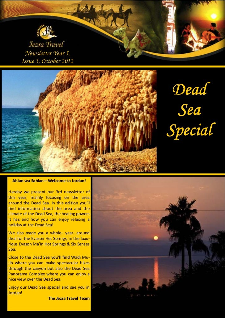 Newsletter Year 5,       Issue 3, October 2012                                                 Dead                       ...