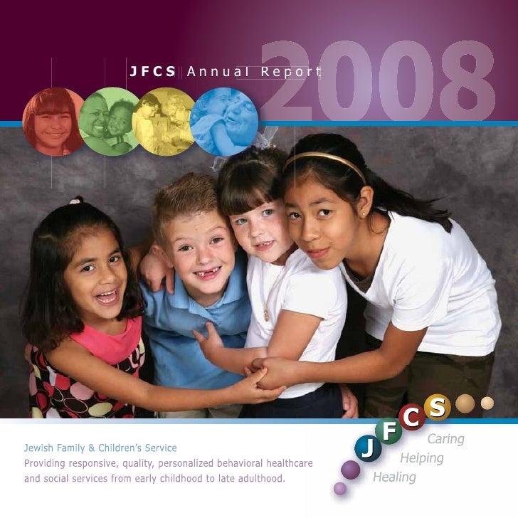 JFCS Annual Report 2008