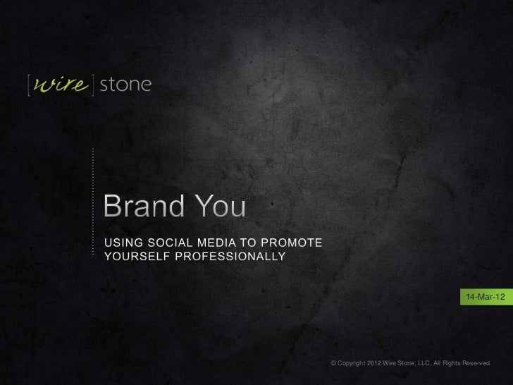 Brand You. Using LinkedIn to build your personal brand