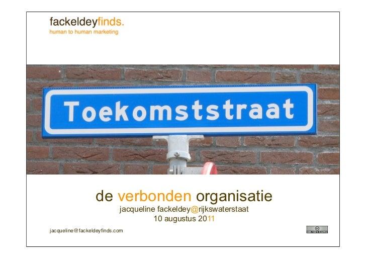 Lezing de verbonden organisatie voor Rijkswaterstaat_Jacqueline Fackeldey