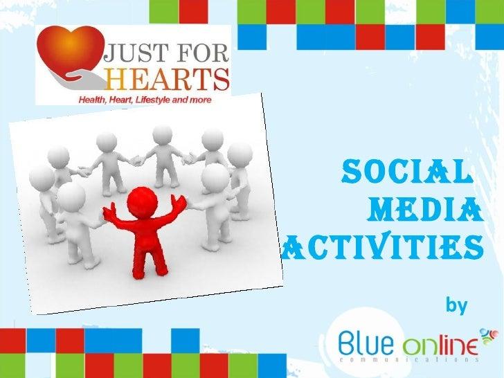 Social  Media Activities by