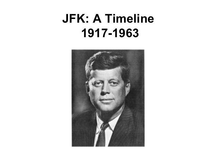 JFK: A Timeline   1917-1963