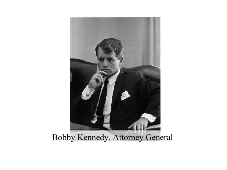 Bobby Kennedy, Attorney General