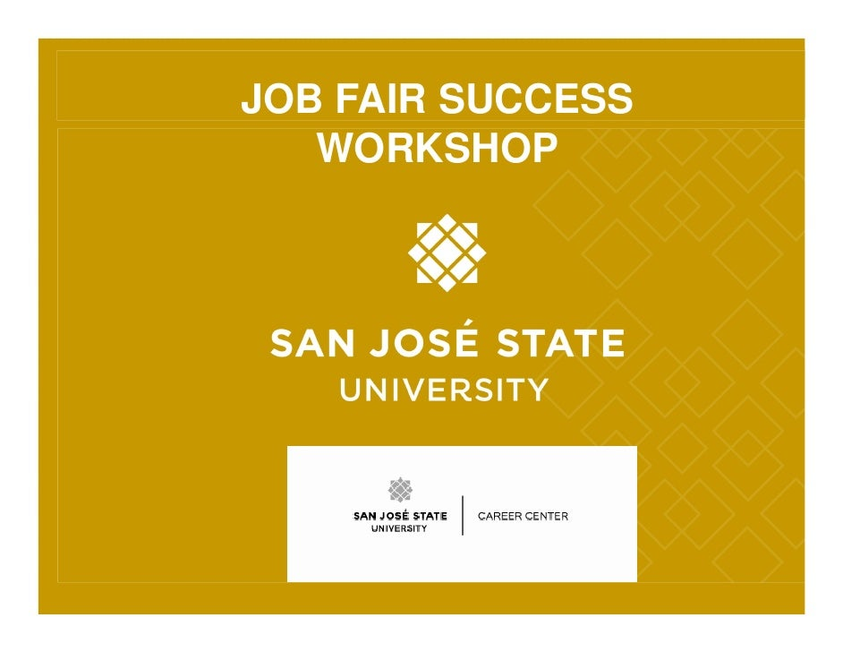 Job Fair Success Workshop 09