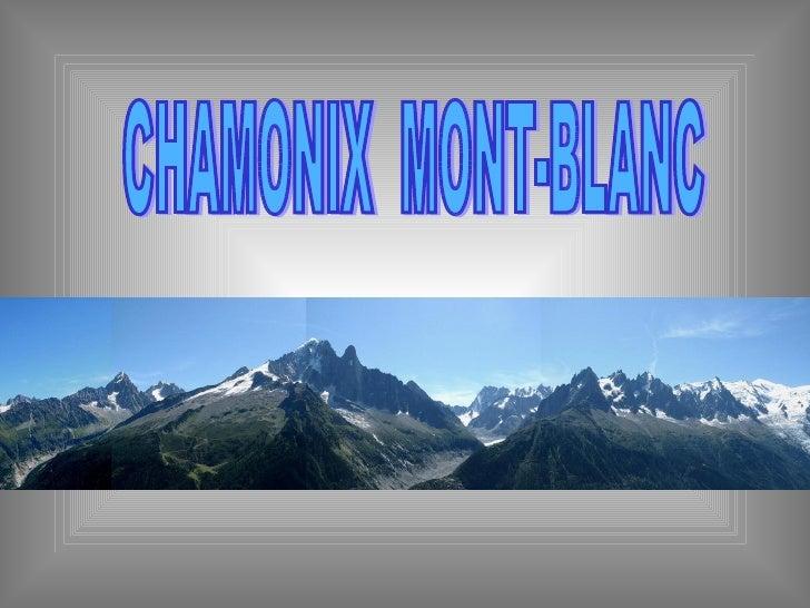 Jg alpes chamonix