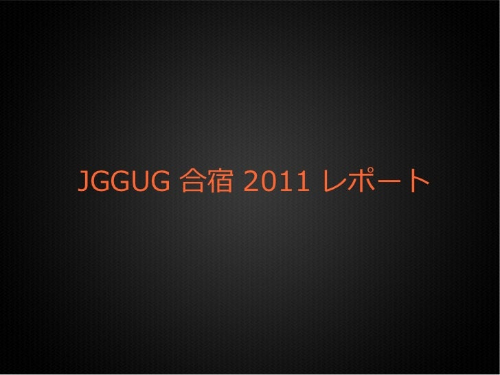 JggugCamp2011Report