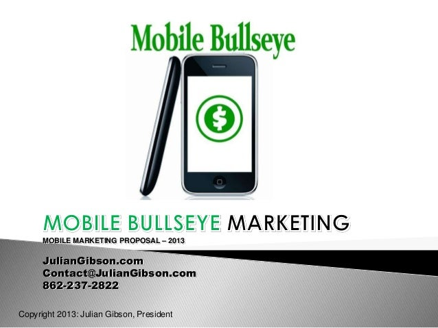 Jg mobile marketing plan
